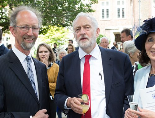 Welcoming the Rt Hon Jeremy Corbyn MP