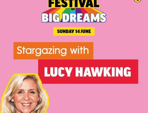 Puffin Festival of Big Dreams with Lucy Hawking & Kit Van Berckel