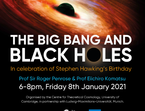 The Big Bang and Black Holes – Public Lecture